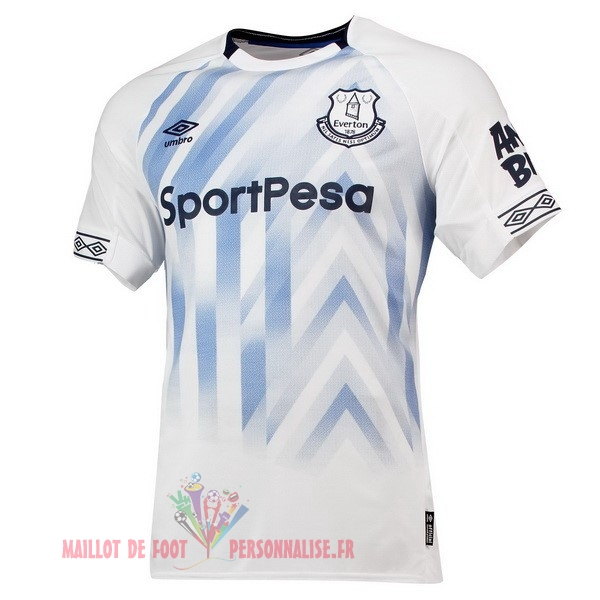 Maillot Om Pas Cher umbro Third Maillots Everton 2018-2019 Blanc