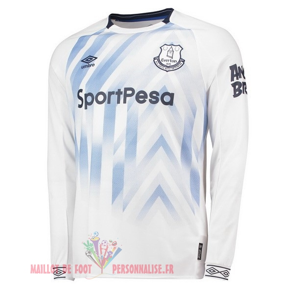 Maillot Om Pas Cher umbro Third Maillots Manches Longues Everton 2018-2019 Blanc