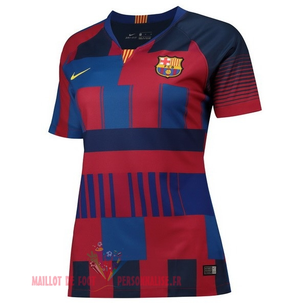 Maillot Om Pas Cher Nike Maillots Femme Barcelona 20th Bleu Rouge