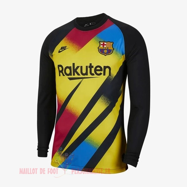 Maillot Om Pas Cher Nike Maillot Gardien Manches Longues Barcelona 2019 2020 Jaune