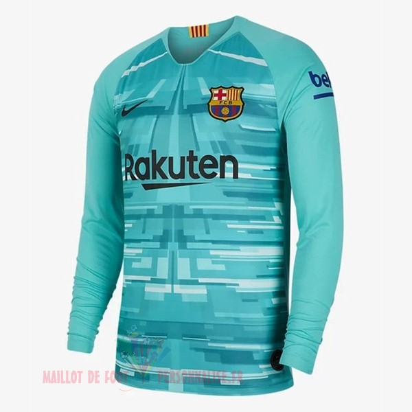 Maillot Om Pas Cher Nike Maillot Gardien Manches Longues Barcelona 2019 2020 Vert