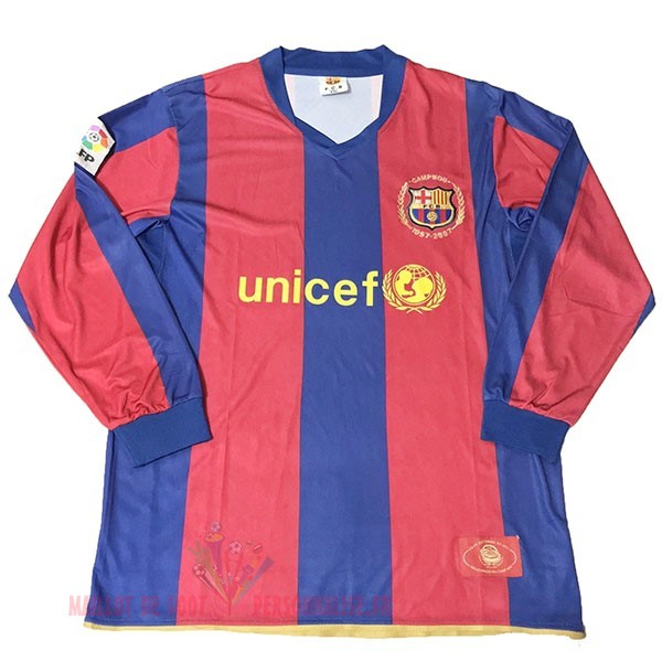 Maillot Om Pas Cher Nike Maillot Manches Longues Barcelona 50Th Bleu Rouge