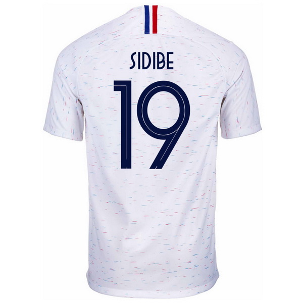 Maillot Om Pas Cher Nike NO.19 Sidibe Exterieur Maillots France 2018 Blanc
