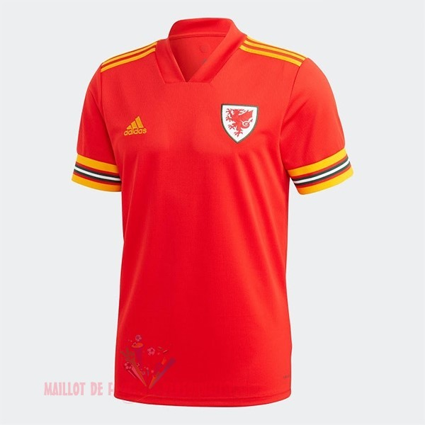 Maillot Om Pas Cher adidas Domicile Maillot Gales 2020 Rouge