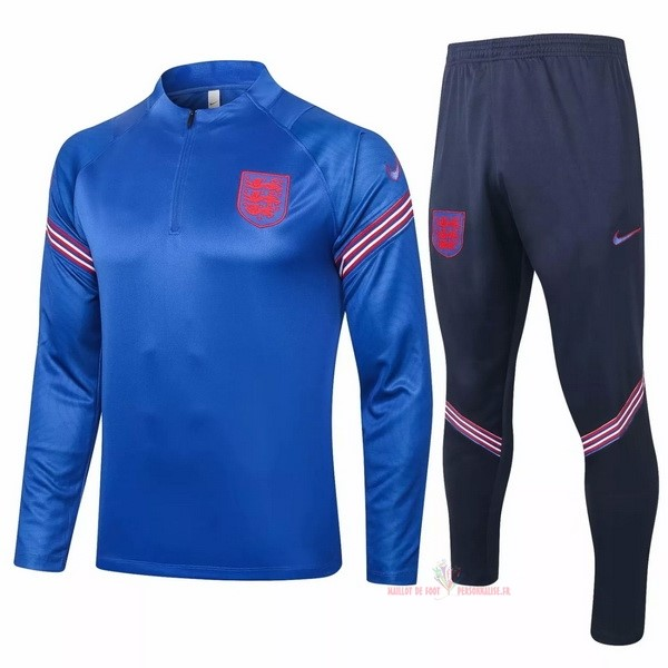 Maillot Om Pas Cher Nike Survêtements Angleterre 2020 Bleu Rouge