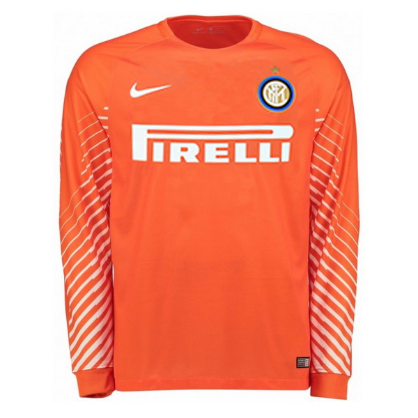 Maillot Om Pas Cher Nike Manches Longues Gardien Internazionale Milano 2017 2018 Orange