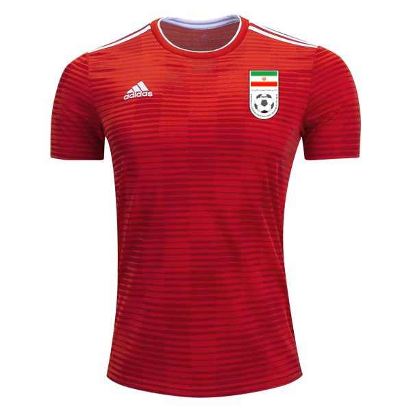 Maillot Om Pas Cher adidas Exterieur Maillots Iran 2018 Rouge