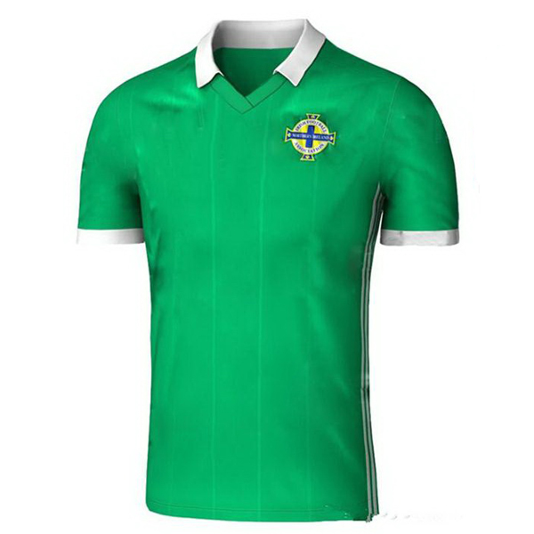 Maillot Om Pas Cher adidas Domicile Maillots Irlande du Nord 2018 Vert