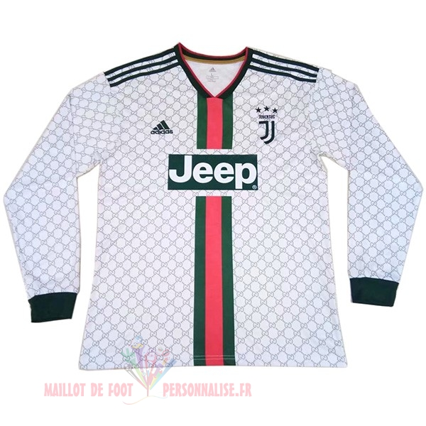 Maillot Om Pas Cher adidas Spécial Manches Longues Juventus 2019 2020 Blanc