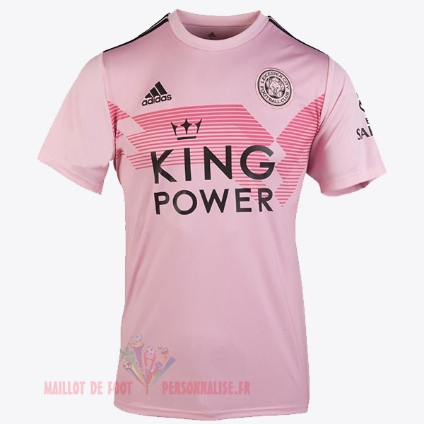 Maillot Om Pas Cher adidas Thailande Exterieur Maillot Leicester City 2019 2020 Rose