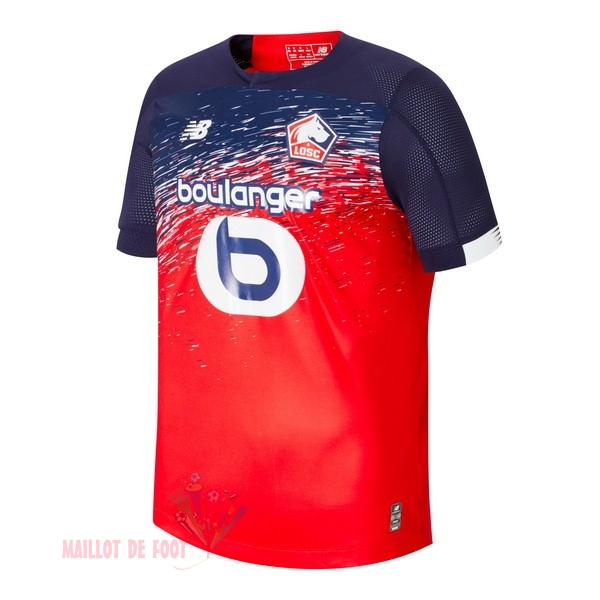 Maillot Om Pas Cher New Balance Domicile Maillot LOSC 2019 2020 Rouge
