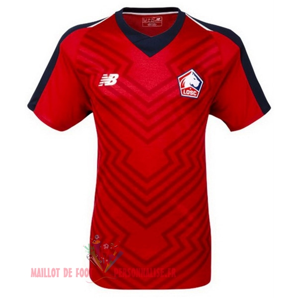 Maillot Om Pas Cher New Balance Domicile Maillots LOSC 18-19 Rouge