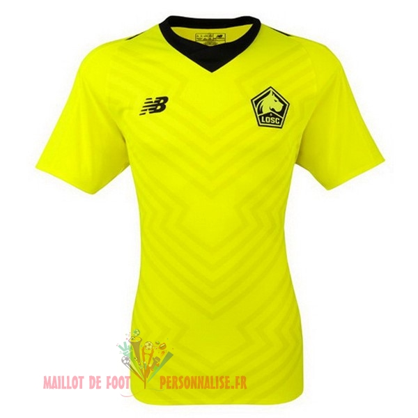 Maillot Om Pas Cher New Balance Exterieur Maillots LOSC 18-19 Vert