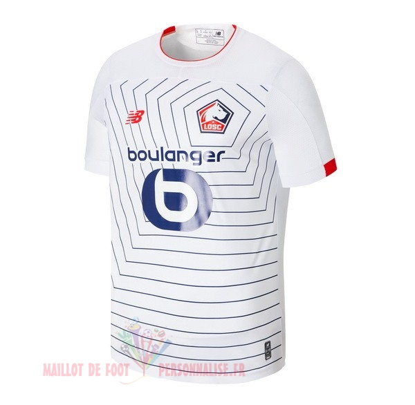 Maillot Om Pas Cher New Balance Third Maillot LOSC 2019 2020 Blanc