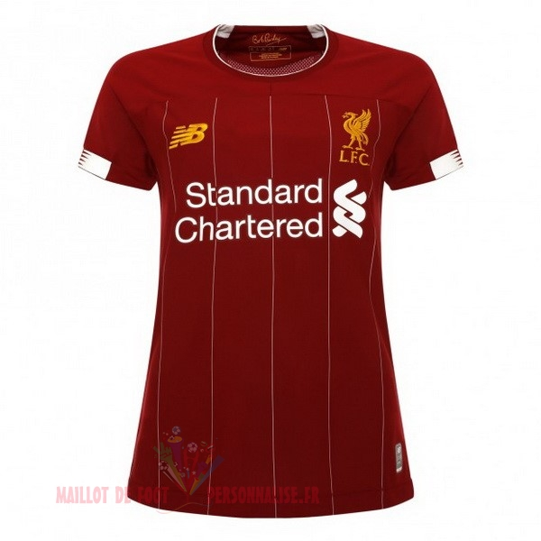 Maillot Om Pas Cher New Balance Domicile Maillot Femme Liverpool 2019 2020 Rouge