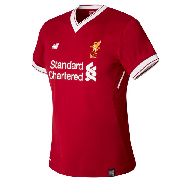 Maillot Om Pas Cher New Balance Domicile Maillots Femme Liverpool 2017 2018 Rouge