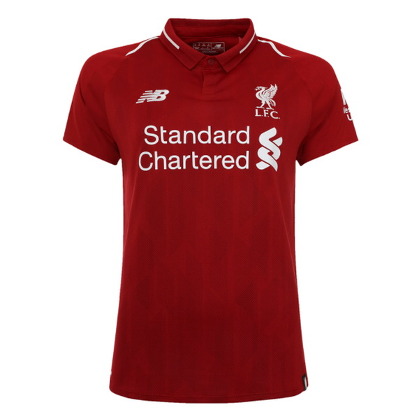 Maillot Om Pas Cher New Balance Domicile Maillots Femme Liverpool 2018 2019 Rouge