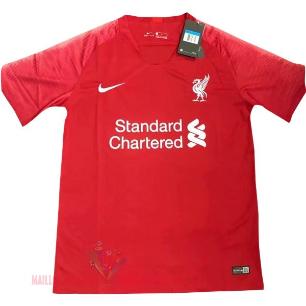 Maillot Om Pas Cher Nike Thailande DomiChili Maillot Liverpool 2019 2020 Rouge