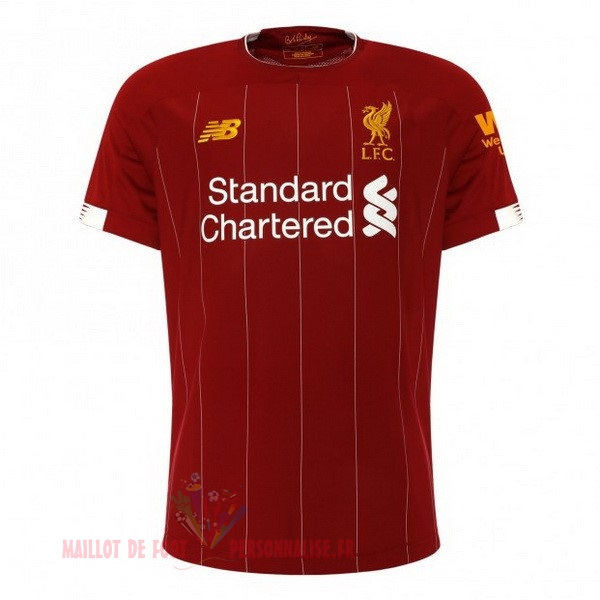 Maillot Om Pas Cher New Balance Thailande Domicile Maillot Liverpool 2019 2020 Rouge
