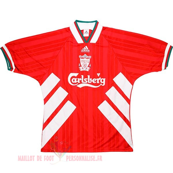 Maillot Om Pas Cher adidas Domicile Maillot Liverpool Retro 1993 1995 Rouge