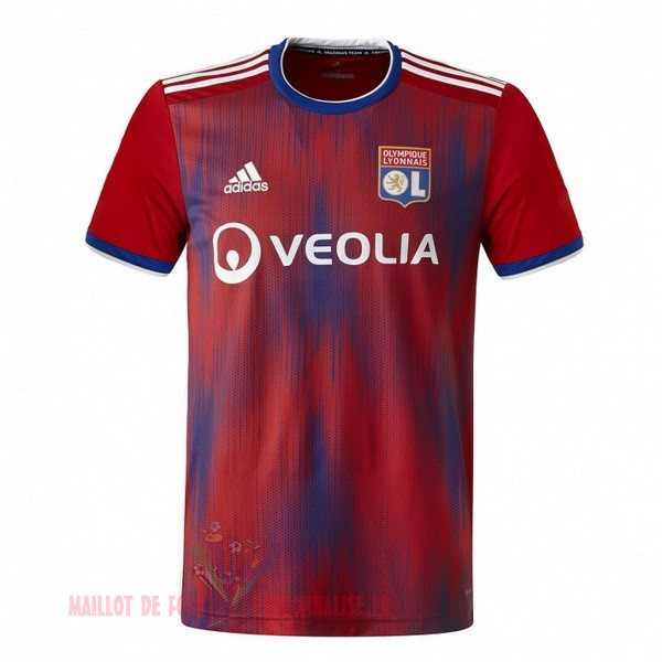 Maillot Om Pas Cher adidas Third Maillot Lyonnais 2019 2020 Rouge