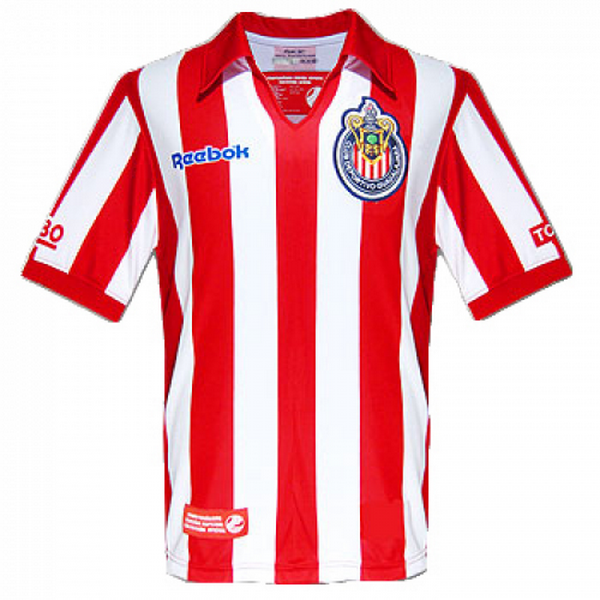 Maillot Om Pas Cher Reebok Domicile Maillots Chivas USA 2017 2018 Rouge