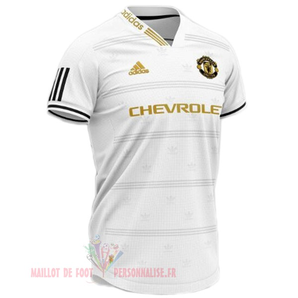 Maillot Om Pas Cher Adidas Concept Maillot Manchester United 2019 2020 Blanc Bleu