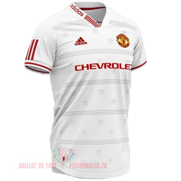 Maillot Om Pas Cher Adidas Concept Maillot Manchester United 2019 2020 Blanc Rouge