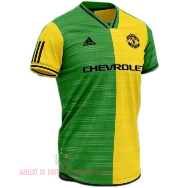 Maillot Om Pas Cher Adidas Concept Maillot Manchester United 2019 2020 Jaune Vert
