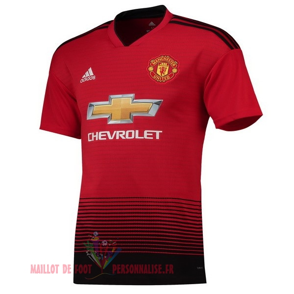 Maillot Om Pas Cher adidas Domicile Maillots Manchester United 2018-2019 Rouge