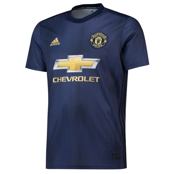 Maillot Om Pas Cher adidas Thailande Third Maillots Manchester United 2018 2019 Bleu