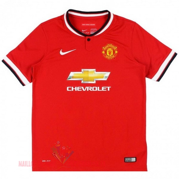 Maillot Om Pas Cher Nike Domicile Maillot Manchester United Rétro 2014 2015 Rouge