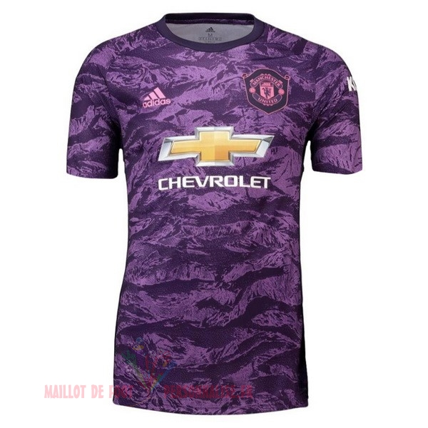 Maillot Om Pas Cher adidas Maillot Gardien Manchester United 2019 2020 Purpura