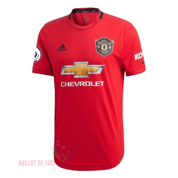 Maillot Om Pas Cher adidas Thailande Domicile Maillot Manchester United 2019 2020 Rouge