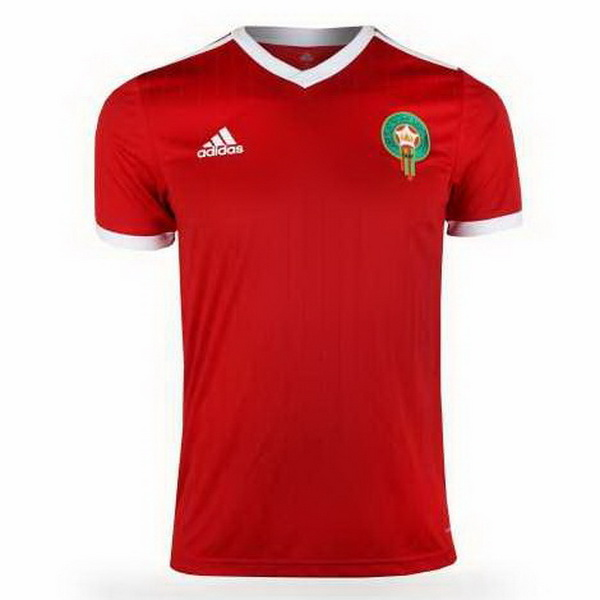 Maillot Om Pas Cher adidas Domicile Maillots Maroc 2018 Rouge