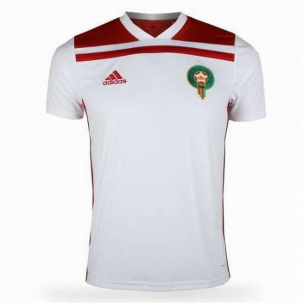 Maillot Om Pas Cher adidas Exterieur Maillots Maroc 2018 Blanc