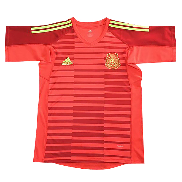 Maillot Om Pas Cher adidas Maillots Gardien Mexique 2018 Rouge