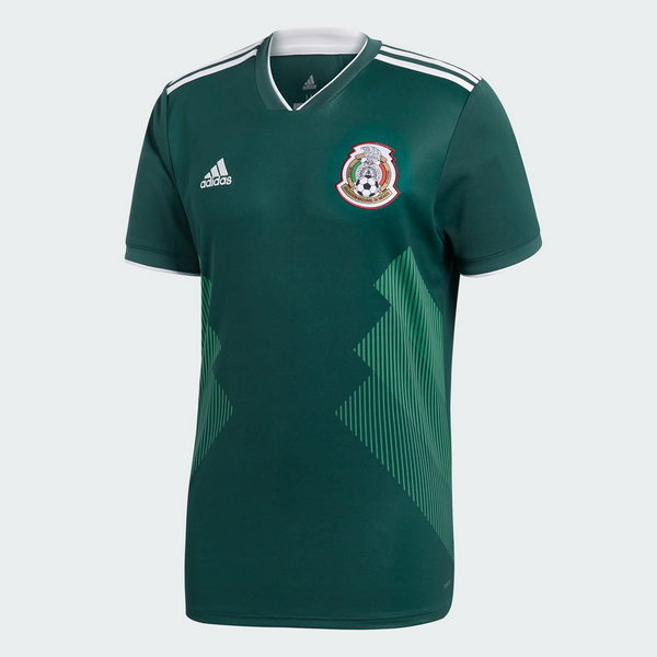 Maillot Om Pas Cher adidas Thailande Domicile Maillots Mexico 2018 Vert