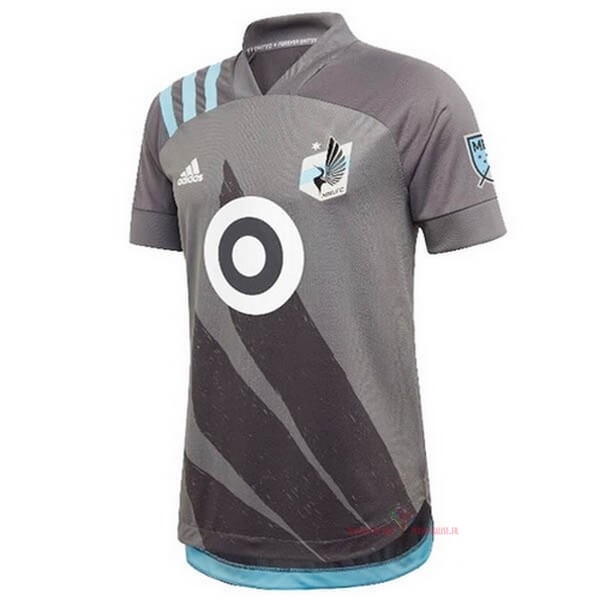 Maillot Om Pas Cher adidas Domicile Maillot Minnesota United 2020 2021 Gris