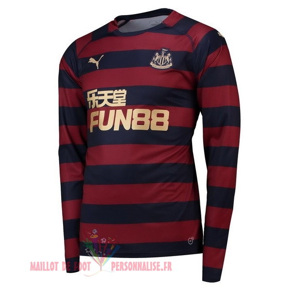 Maillot Om Pas Cher PUMA Exterieur Manches Longues Newcastle United 2018-2019 Rouge