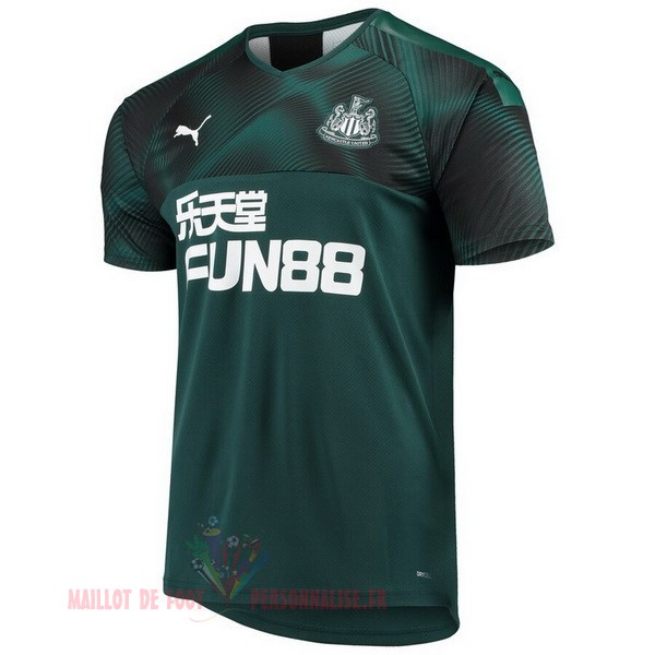 Maillot Om Pas Cher PUMA Exterieur Maillot Newcastle United 2019 2020 Vert
