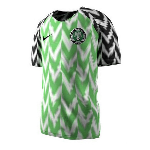 Maillot Om Pas Cher Nike Domicile Maillots Nigeria 2018 Vert