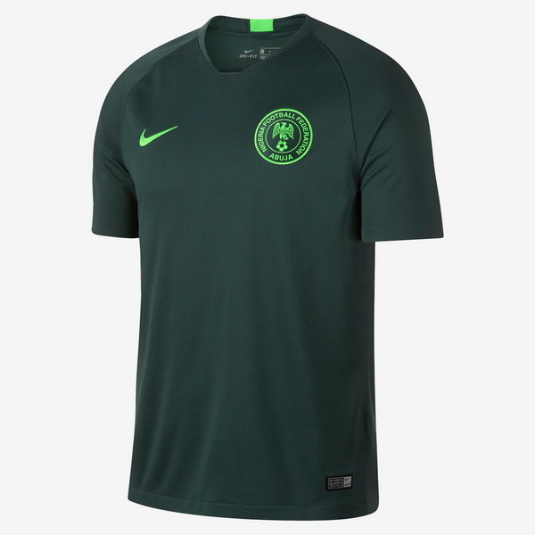Maillot Om Pas Cher Nike Exterieur Maillots Nigeria 2018 Vert
