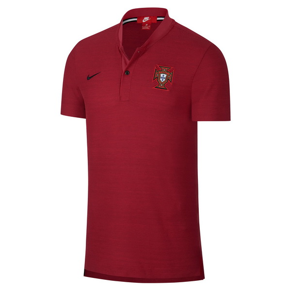 Maillot Om Pas Cher Nike Polo Portugal 2018 Rouge