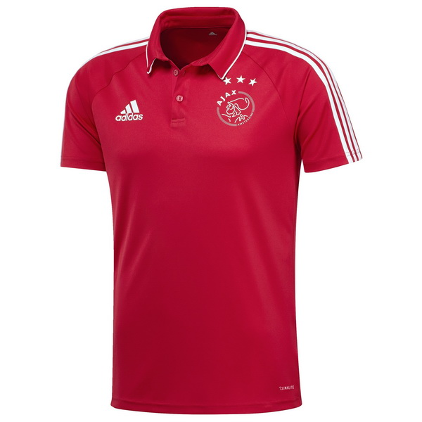 Maillot Om Pas Cher adidas Polo Ajax 2017 2018 Rouge