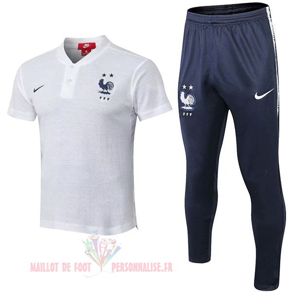 Maillot Om Pas Cher Nike Conjunto Completo Polo France 2018 Blanc
