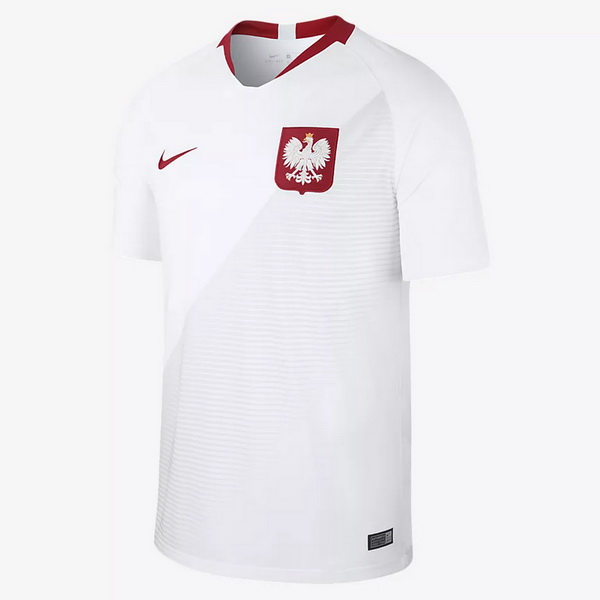 Maillot Om Pas Cher Nike Domicile Maillots Pologne 2018 Blanc