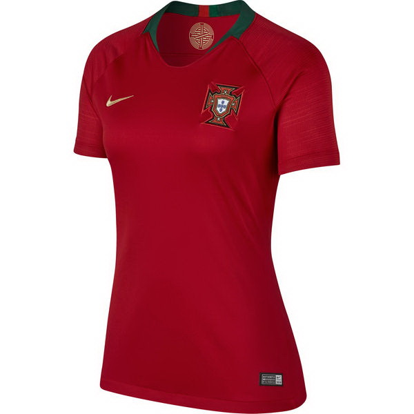 Maillot Om Pas Cher Nike Domicile Maillots Femme Portugal 2018 Rouge