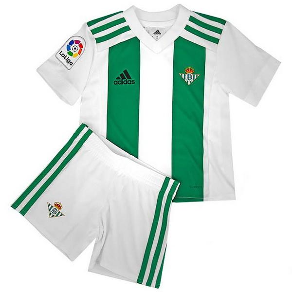 02bad142c6b92 Maillot Om Pas Cher adidas Domicile Ensemble Enfant Real Betis 2017 2018  Blanc Vert