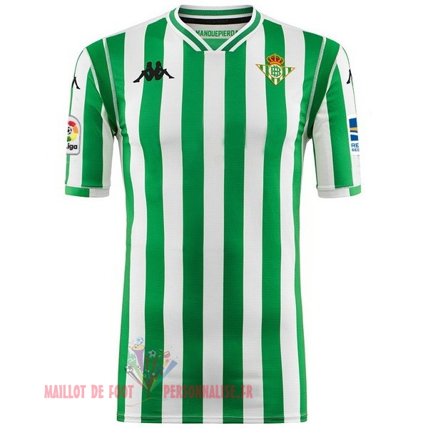 Maillot Om Pas Cher Kappa Domicile Maillots Real Betis 2018-2019 Vert